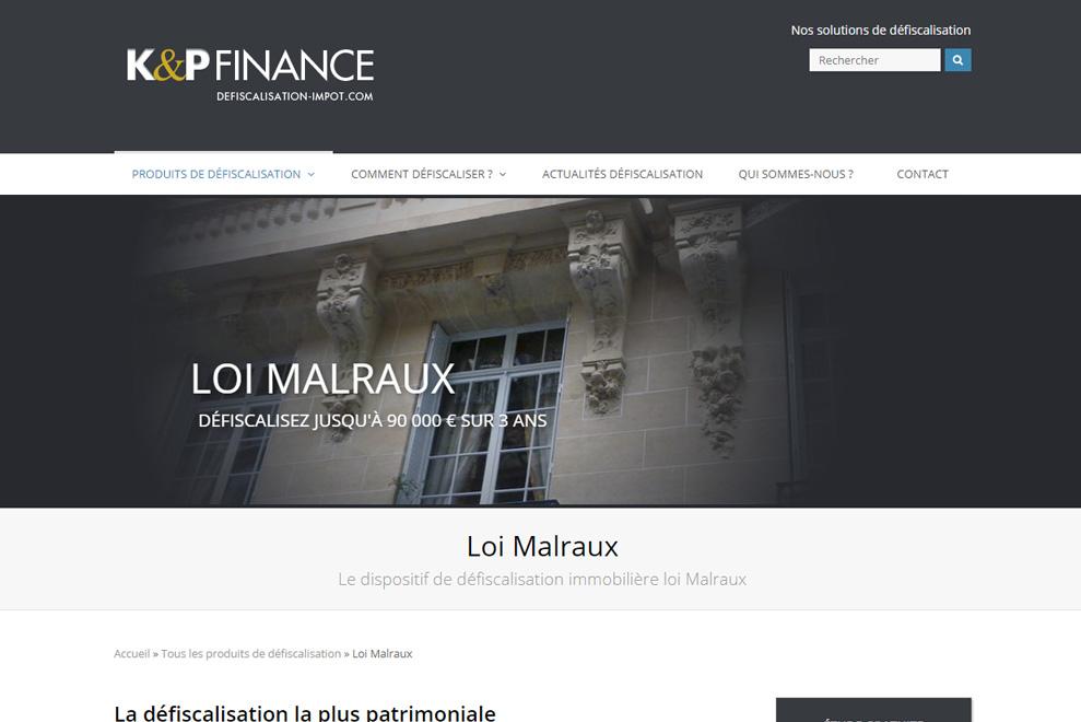 K&P Défiscalisation, défiscalisation Malraux, Monuments Historiques
