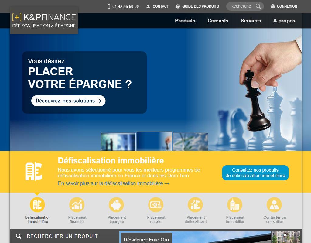 K&P Finance, assurance-vie et épargne