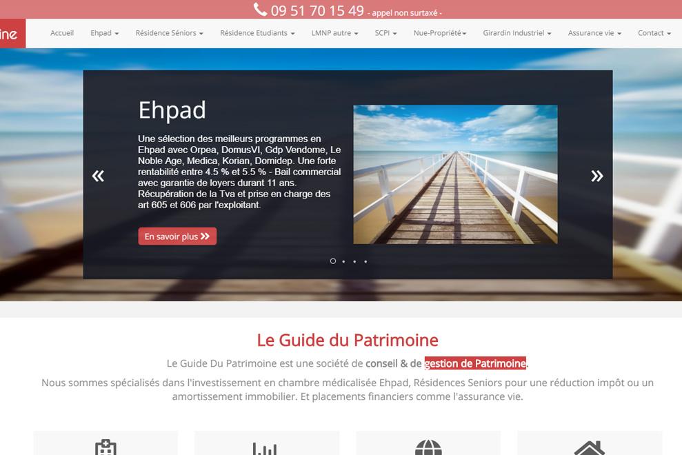 Le Guide du Patrimoine, gestion de patrimoine