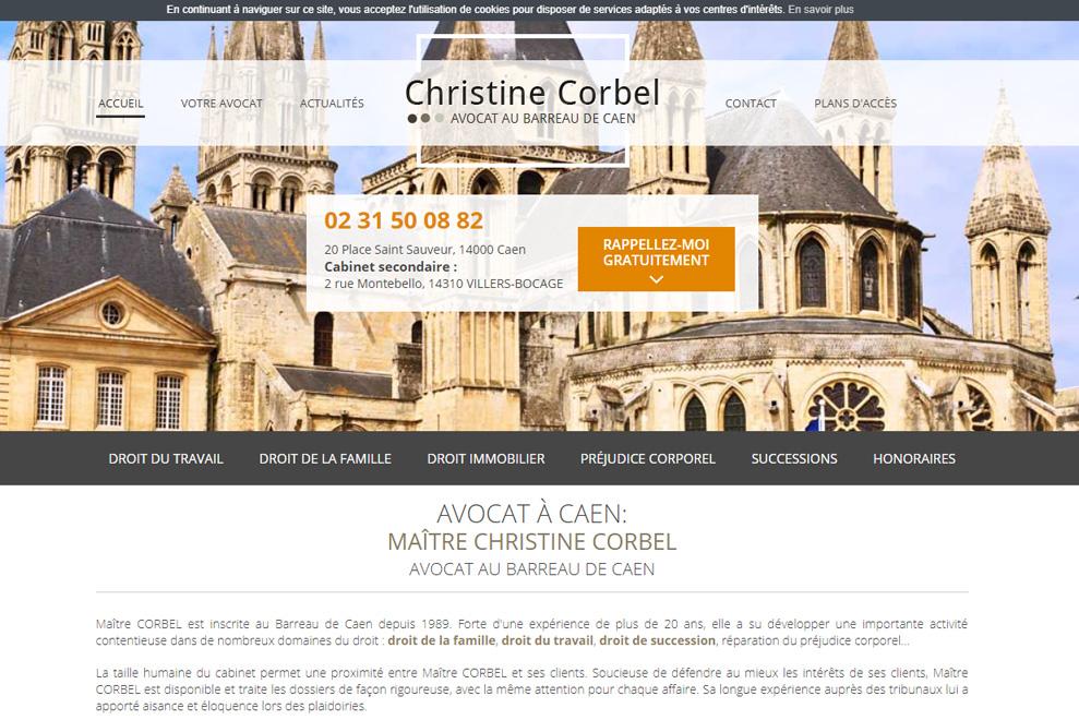 Maître C. Corbel, avocate prud'hommes