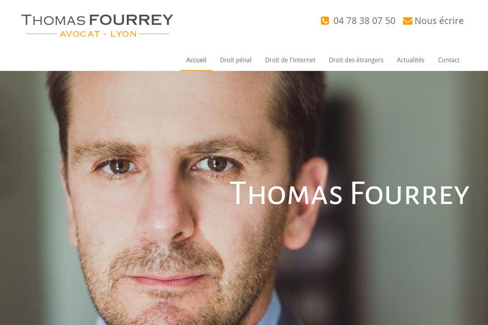 Maître T. Fourrey, avocat droit pénal