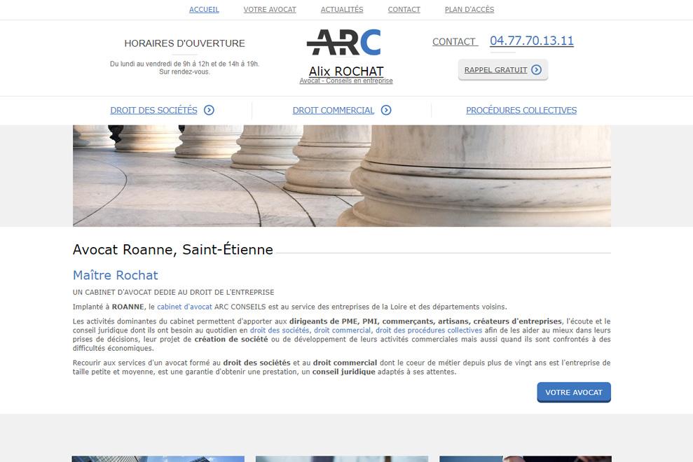 Me Alix Rochat,avocat droit commercial