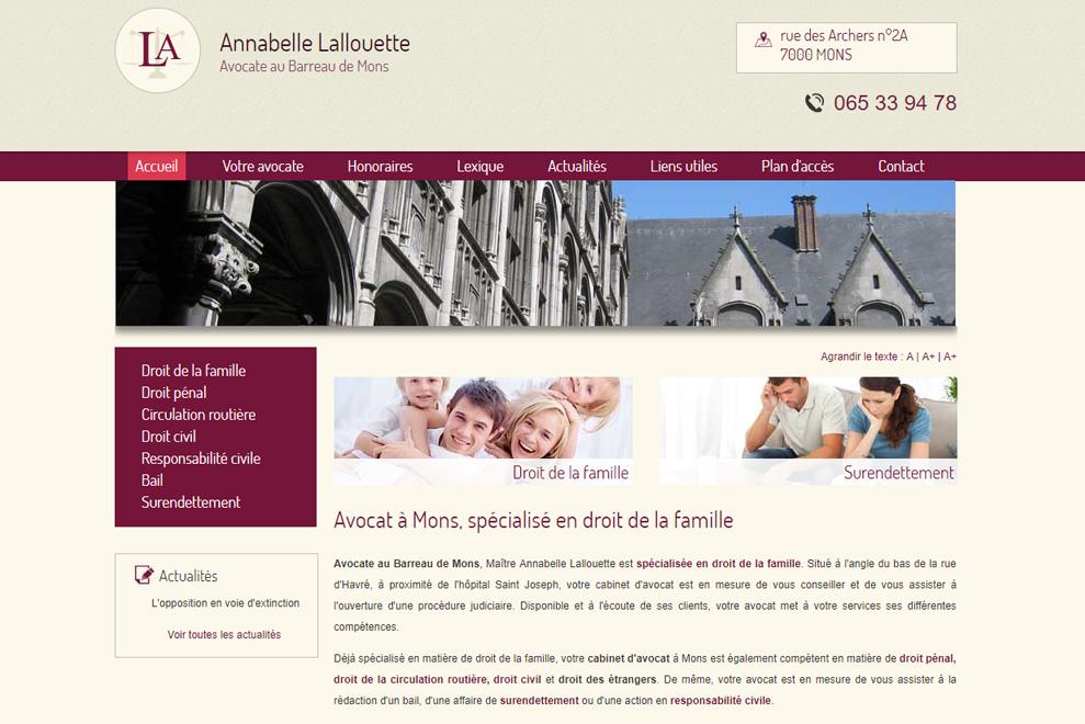 Me Annabelle Lallouette,avocat droit de la famille