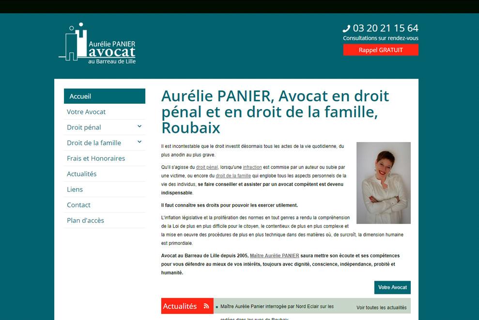 Me Aurélie Panier,avocat droit de la famille