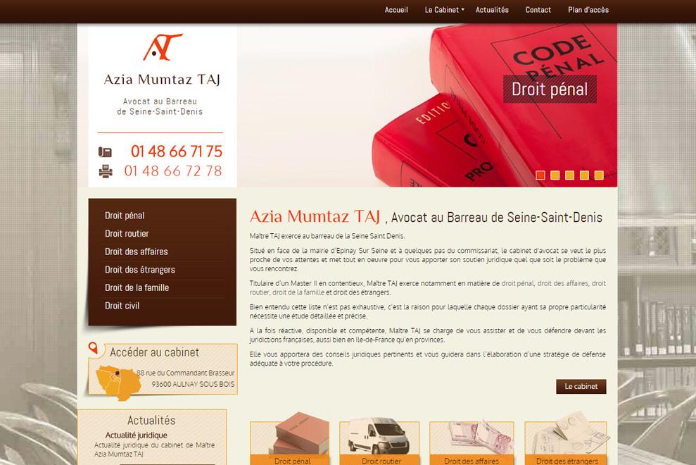 Me Azia Mumtaz Taj, avocatdroit des étrangers