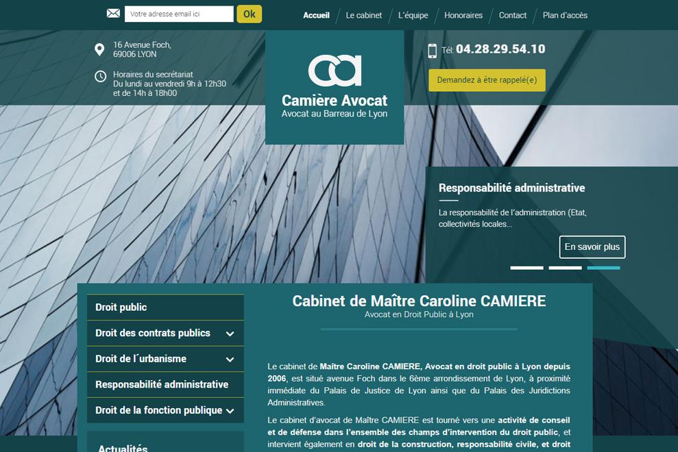 Me Caroline Camière, avocat droit public