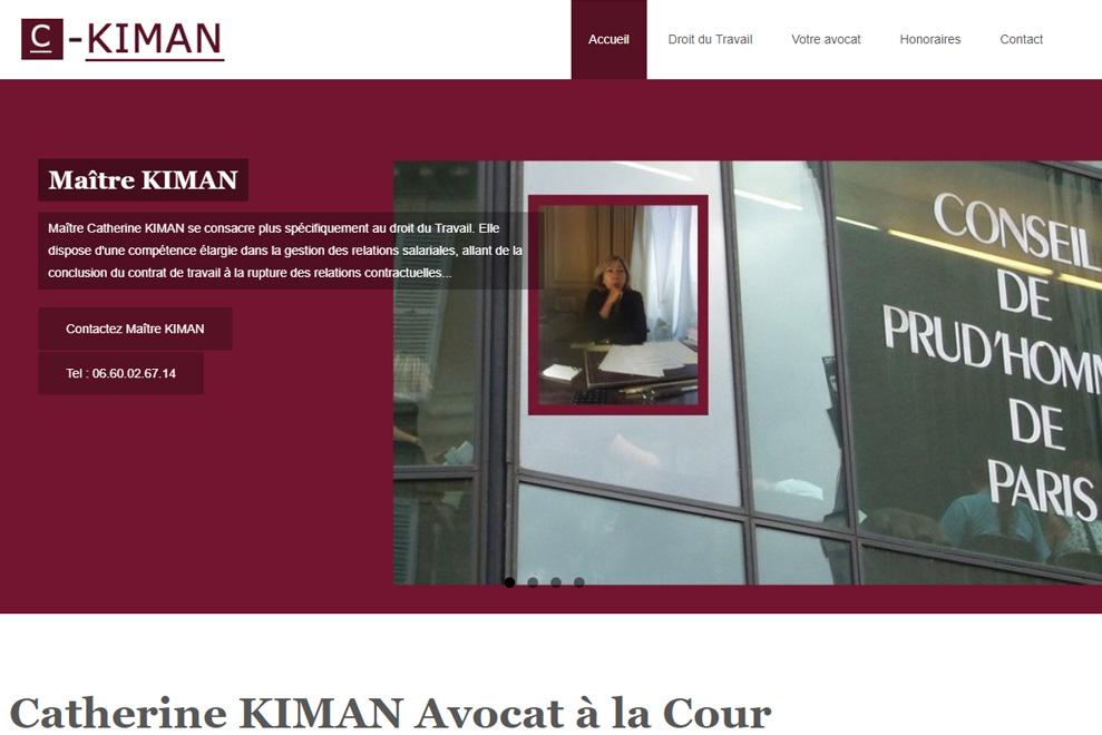 Me Catherine Kimman, avocat droit du travail