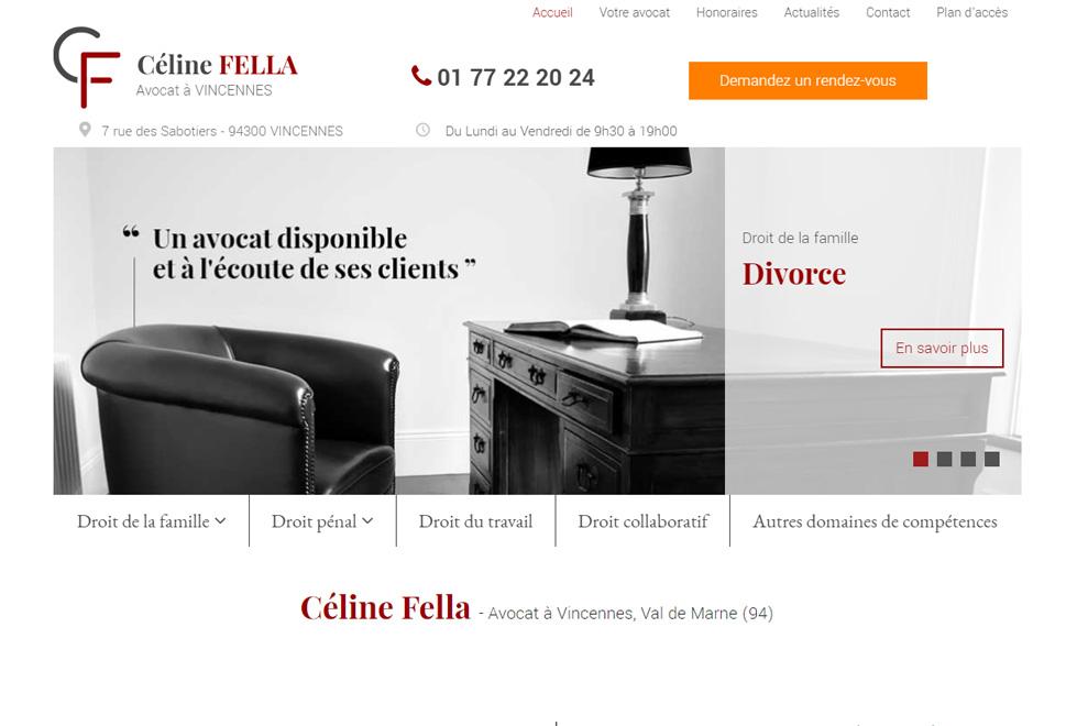Me Céline Fella, avocat droit de la famille