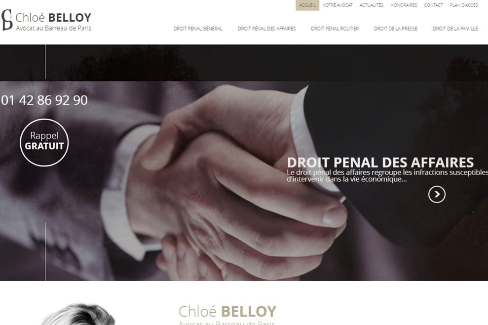 Me ChloéBelloy,avocat droit pénal