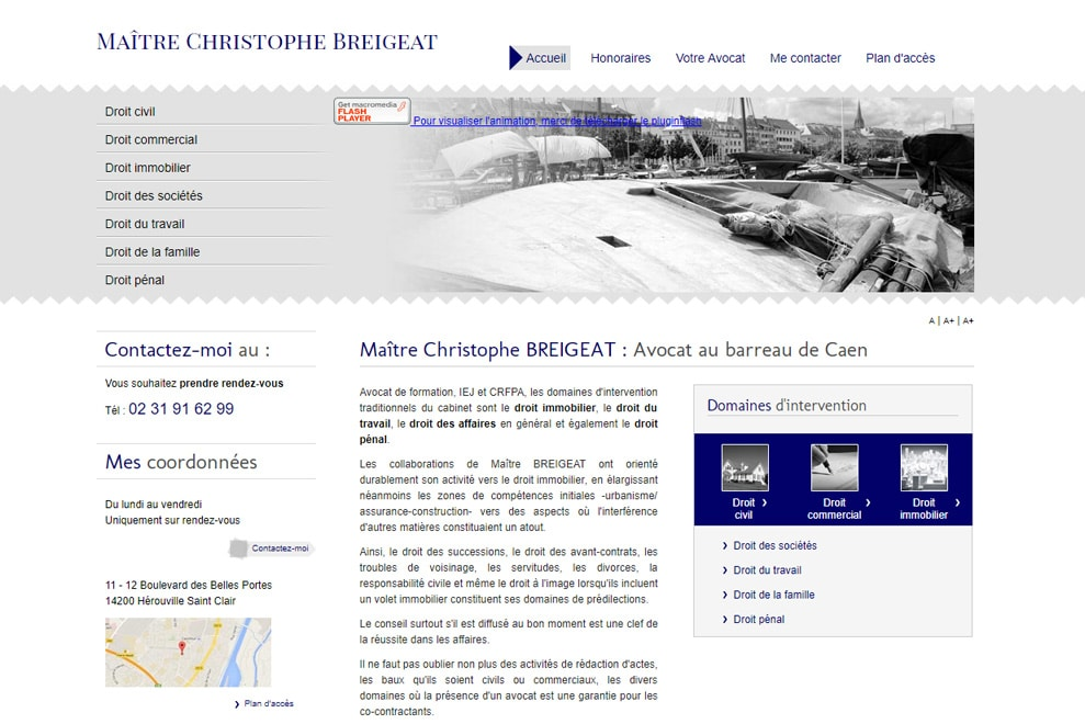 Me Christophe Breigeat, avocat droit civil