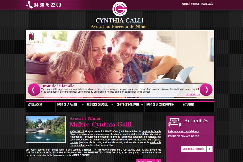 Me Cynthia Galli,avocat droit de la famille