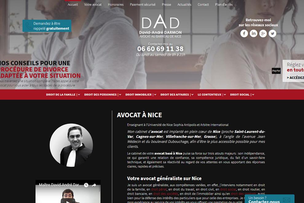 Me David-André Darmon, avocat droit immobilier
