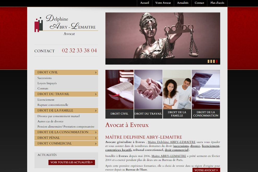 Me Delphine Abry-Lemaitre, avocat généraliste