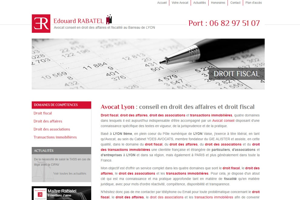 Me Édouard Rabatel, avocat droit des affaires