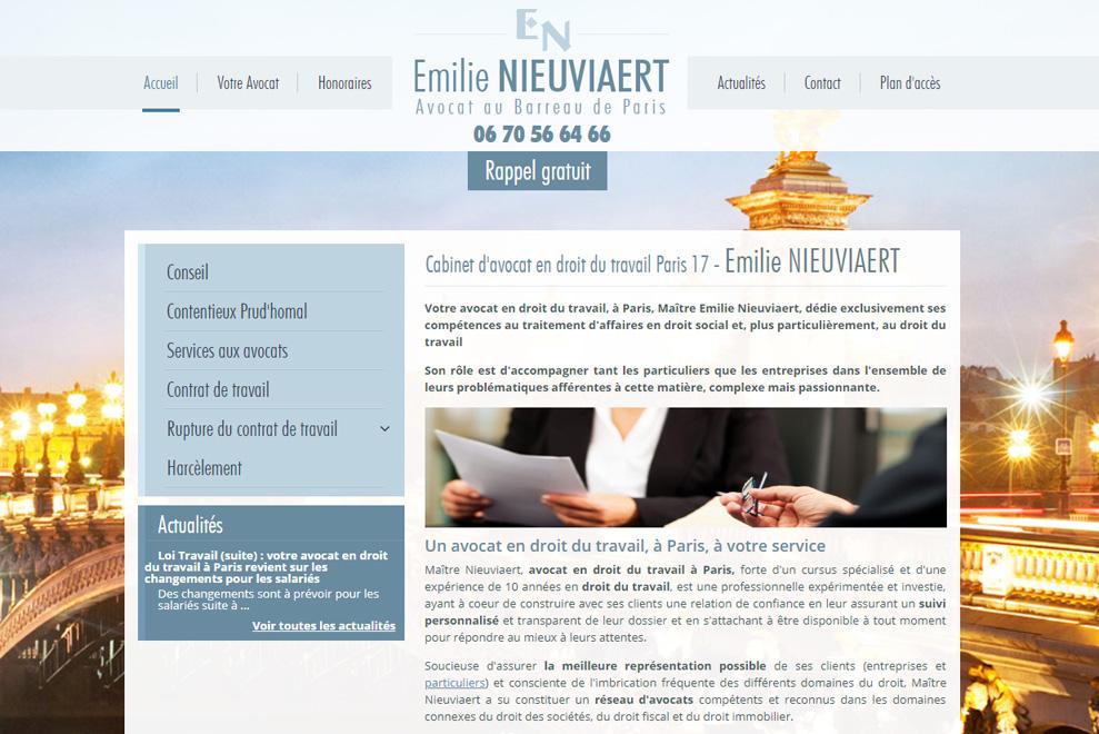 Me Emilie Nieuviaert,avocat droit social