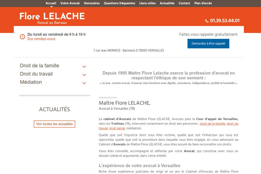 Me Flore Lelache,avocat droit du travail