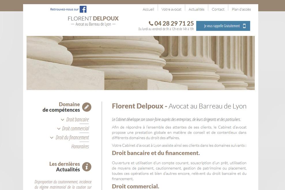 Me Florent Delpoux,avocat droit des affaires