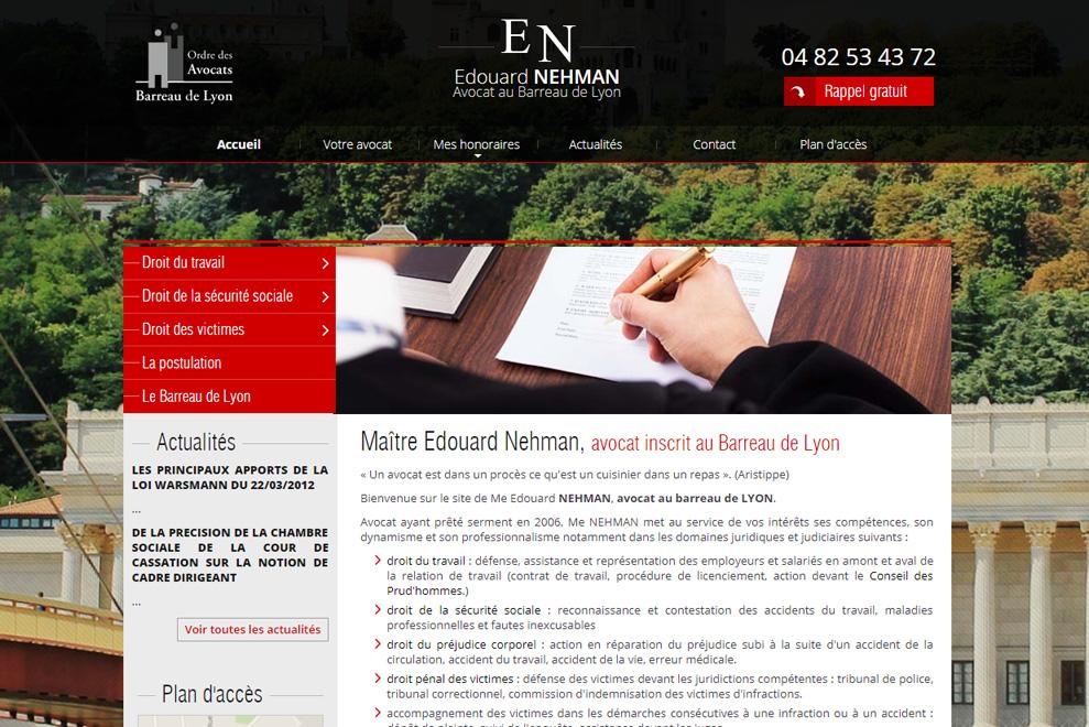 Me Frédéric Nehman, avocat droit social