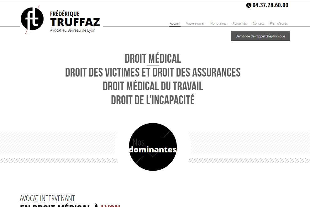 Me Frédérique Truffaz, avocat droit médical