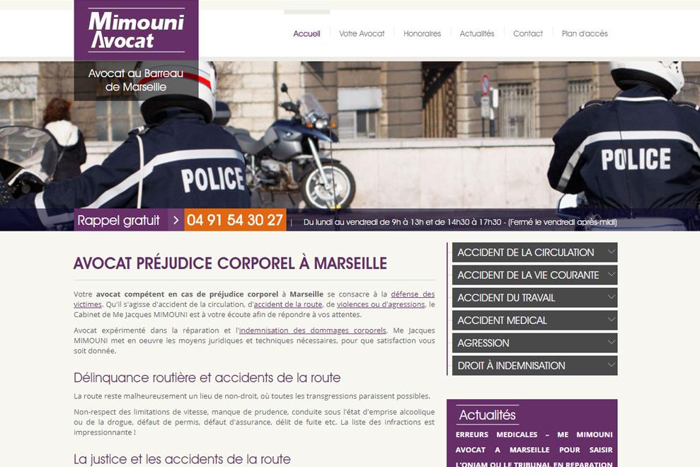Me Jacques Mimouni, avocat droit des victimes