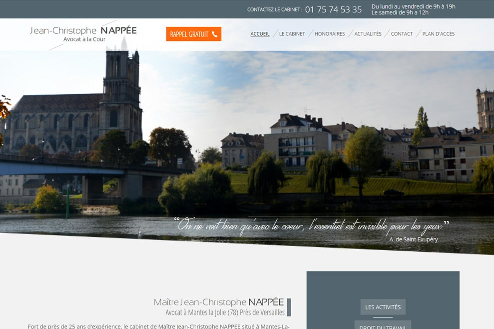Me Jean-Christophe Nappée,avocat droit du travail