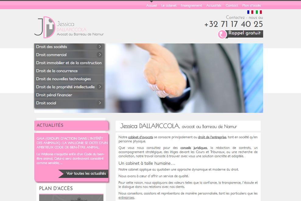 Me Jessica Dallapiccola, avocat droit des sociétés