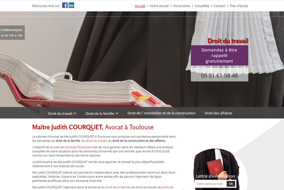 Me Judith Courquet, avocat droit de la famille