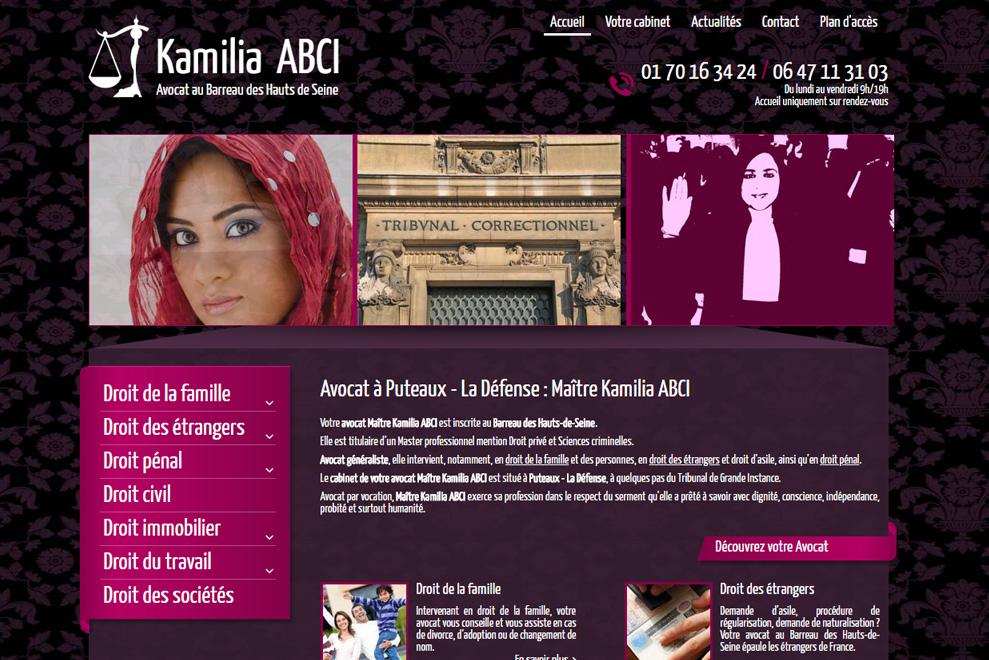 Me Kamilia Abci,avocat droit de la famille
