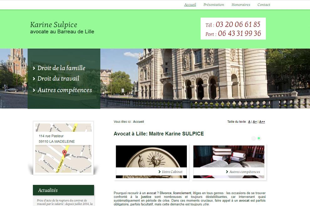Me Karine Sulpice :avocat droit de la famille