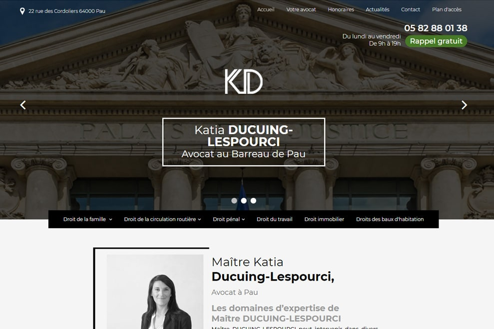 Me Katia  Ducuing-Lespourci, avocat droit de la famille