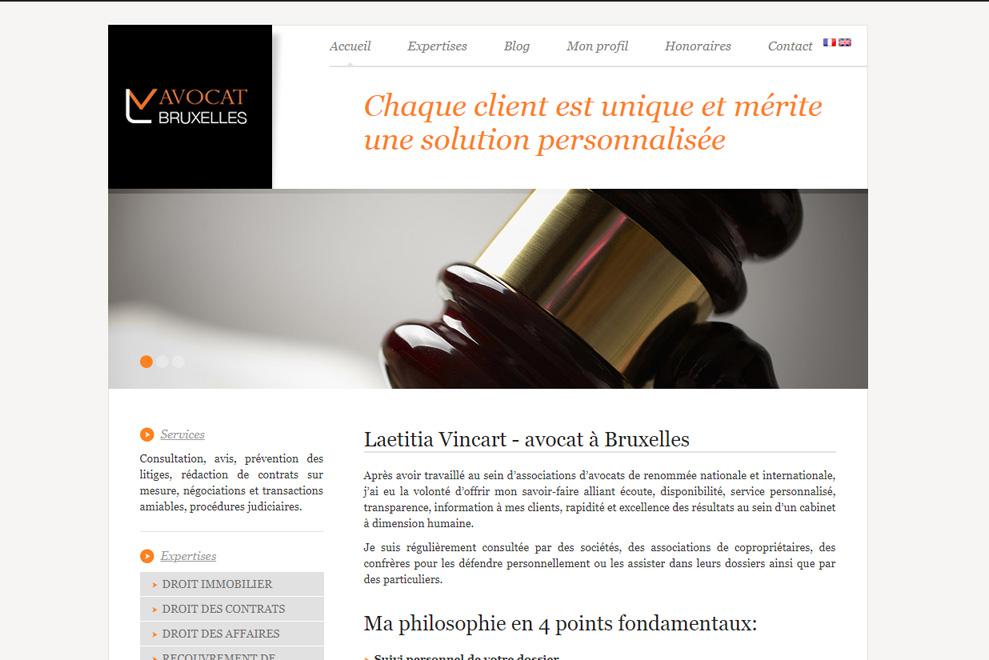 Me Laetitia Vincart, avocat droit de la famille