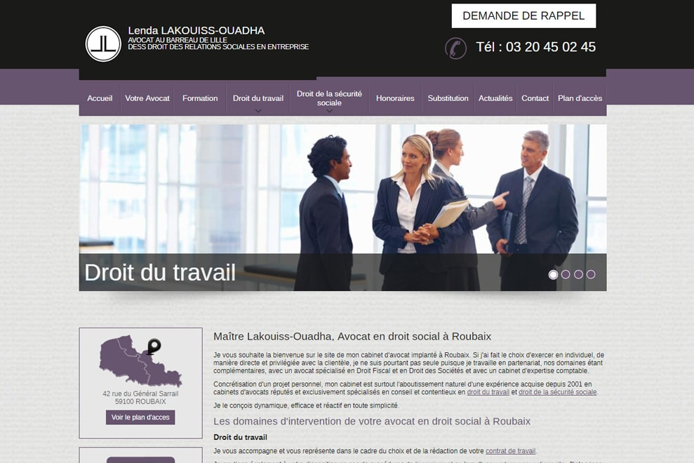 Me Lakouiss-Ouadha, avocat droit social
