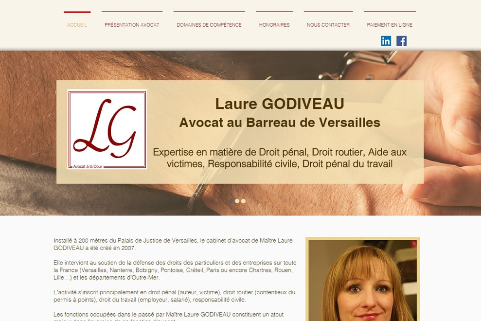 Me Laure Godiveau, avocate en droit pénal