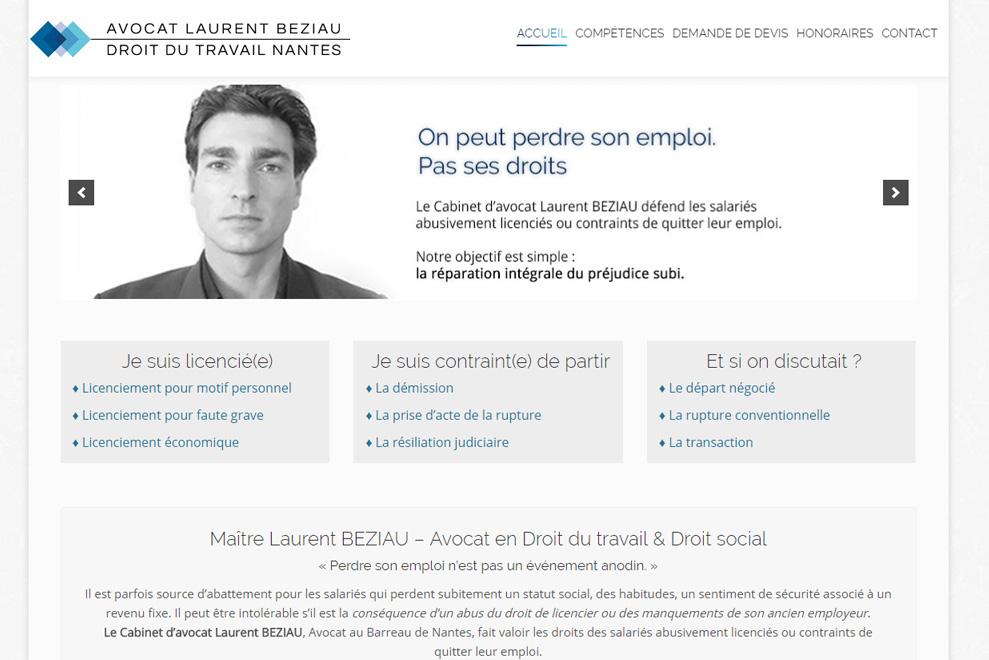 Me Laurent Béziau, avocat droit social
