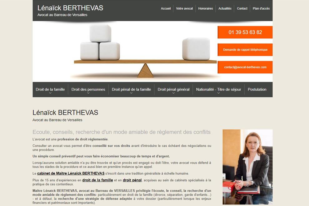 Me Lénaïck Berthevas, avocatdroit de la famille