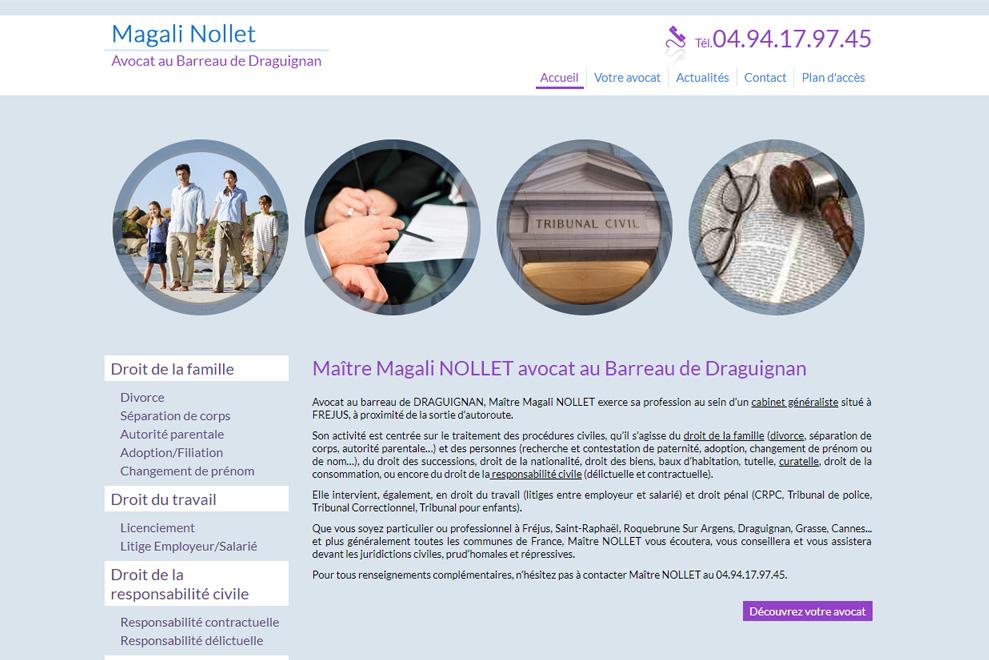 Me Magali Nollet, avocat droit de la famille