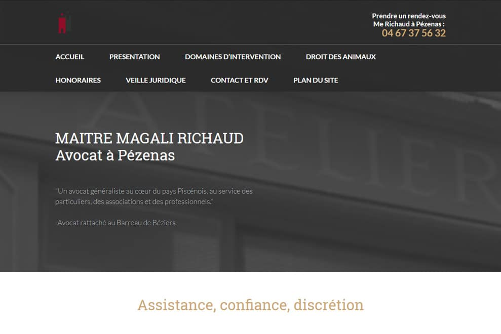 Me Magali Richaud, avocat généraliste