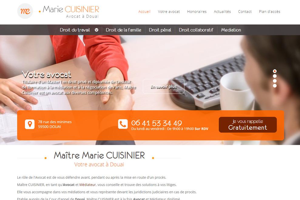 Me Marie Cuisinier, avocatdroit du travail
