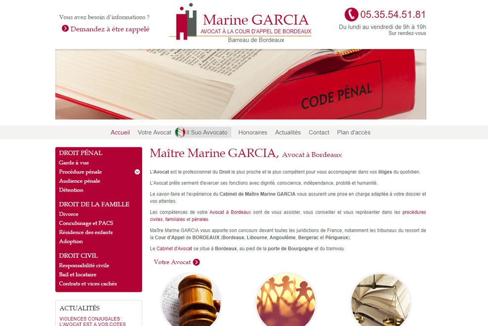 Me Marine Garcia, avocat droit de la famille