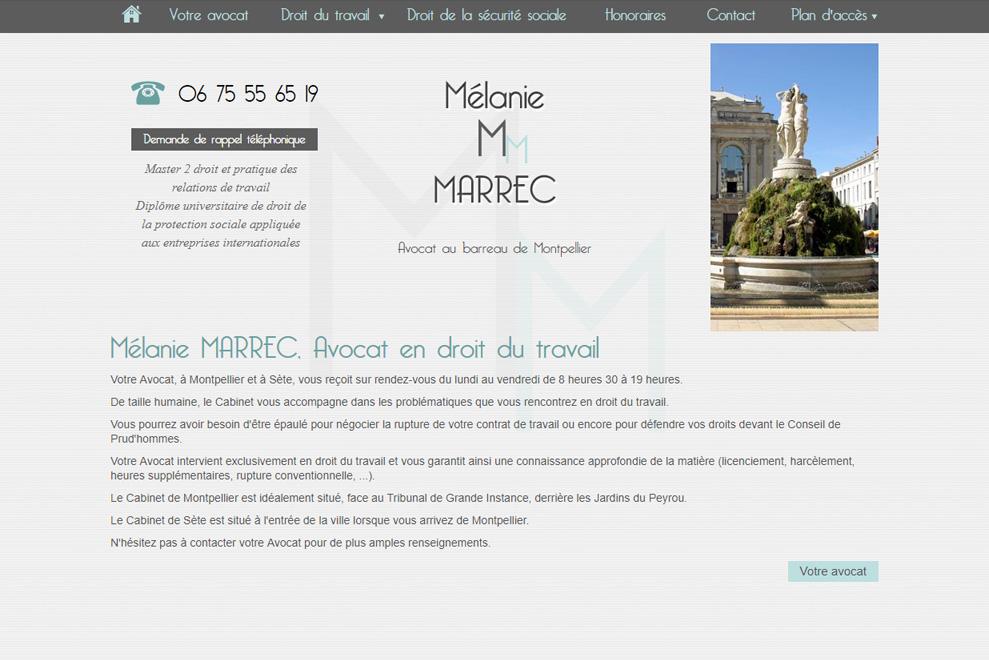 Me Mélanie Marrec,avocat droit du travail