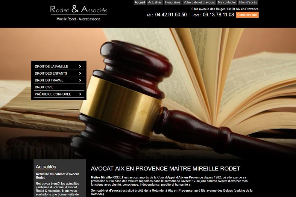 Me Mireille Rodet, avocat droit de la famille