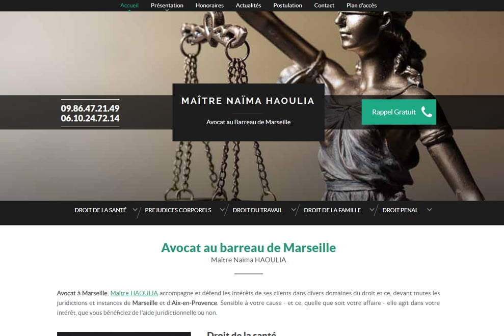 Me Naïma Haoulia, avocat généraliste