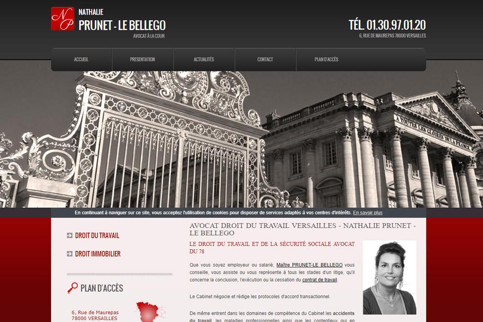 Me Nathalie Le Bellego Prunet, avocat droit de l'immobilier