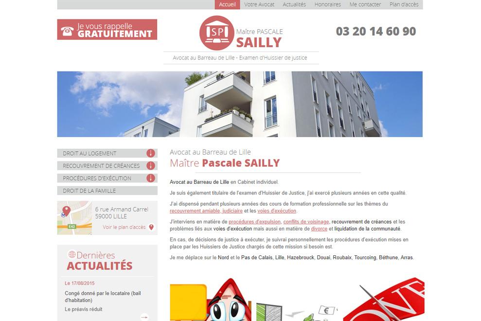 Me Pascale Sailly, avocat droit de l'immobilier