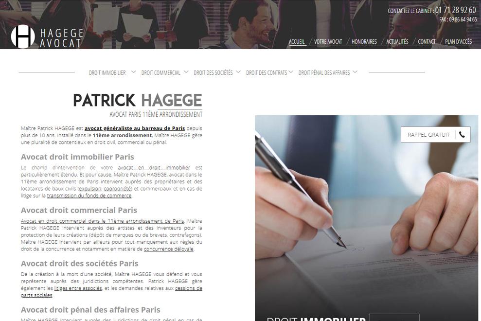 Me Patrick Hagege, avocat droit des sociétés