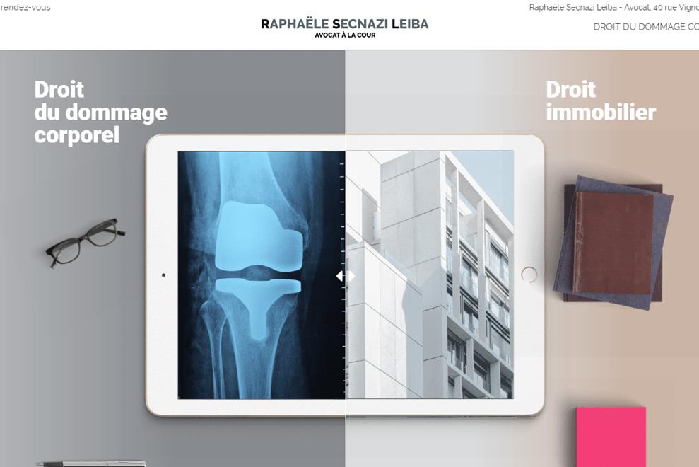 Me Raphaële Secnazi Leiba, avocat droit dudommage corporel