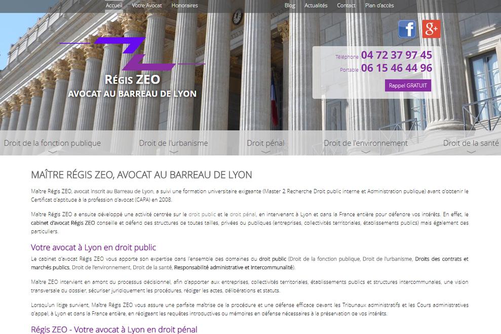 Me Régis Zeo, avocat droit d'urbanisme
