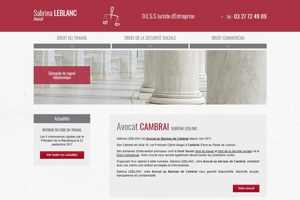 Me Sabrina Leblanc, avocat droit social