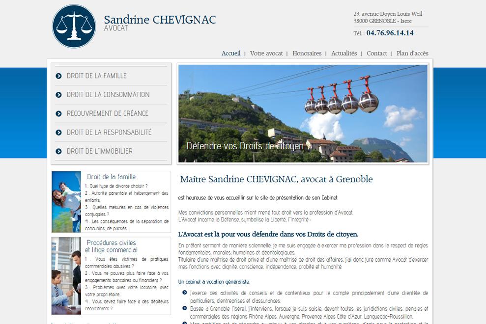 Me Sandrine Chevignac, avocat droit de la consommation