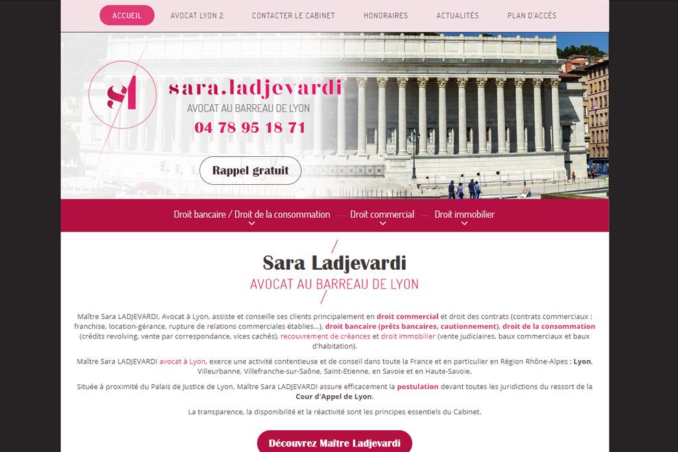 Me Sara Ladjevardi, avocat droit commercial